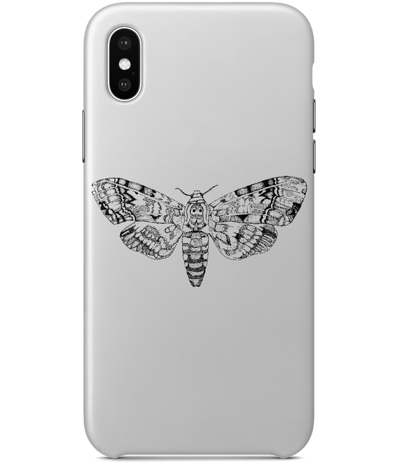 Death's-Head Hawkmoth iPhone X Full Wrap Case