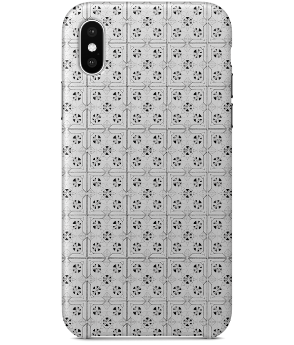 Mandala iPhone X Full Wrap Case