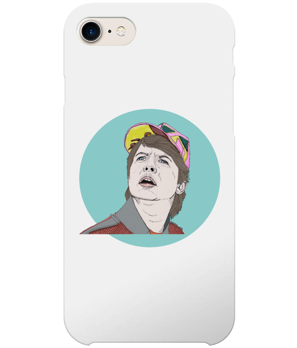 Marty Mcfly iPhone 8 Full Wrap Case
