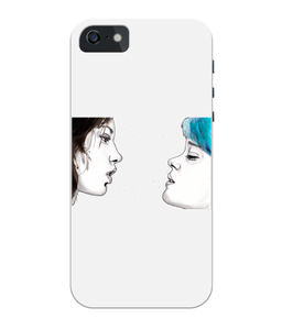 Blue Is The Warmest Colour iPhone 5/5S/SE Full Wrap Case