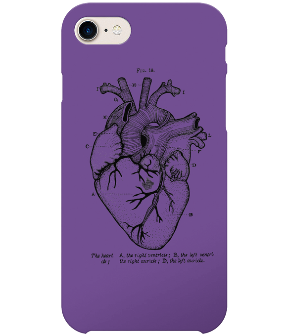 Anatomical Heart iPhone 8 Full Wrap Case