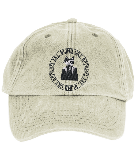 Blind Cat Vintage Cap