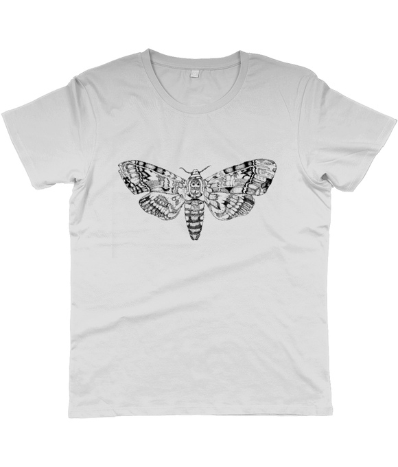 Death's-head Hawkmoth Unisex Slim Cut Jersey T-shirt