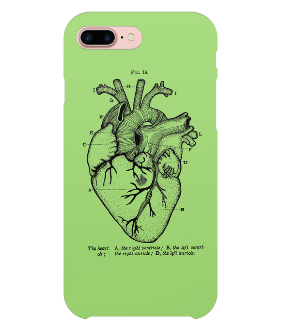 Anatomical Heart iPhone 8 Plus Full Wrap Case