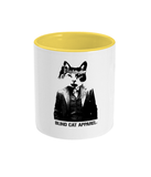 Blind Cat Apparel Logo Two Toned Mug