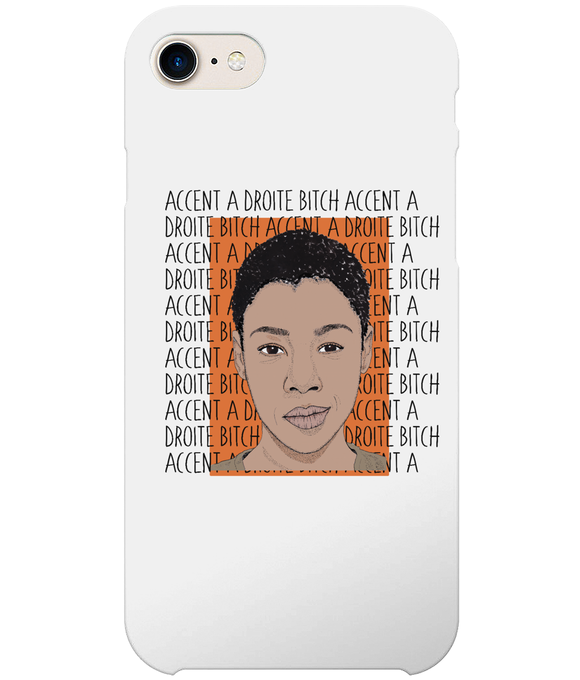 Poussey OITNB iPhone 8 Full Wrap Case
