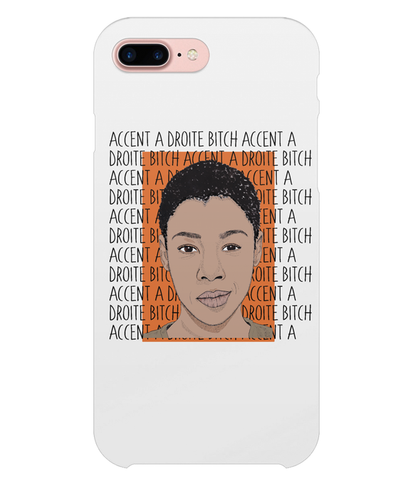 Poussey OITNB iPhone 8 Plus Full Wrap Case