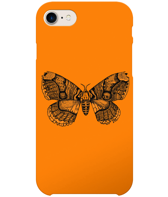 Wallich's Owl Vintage Moth iPhone 8 Full Wrap Case