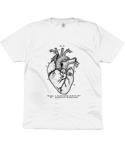 Anatomical Heart Classic Jersey Unisex T-Shirt