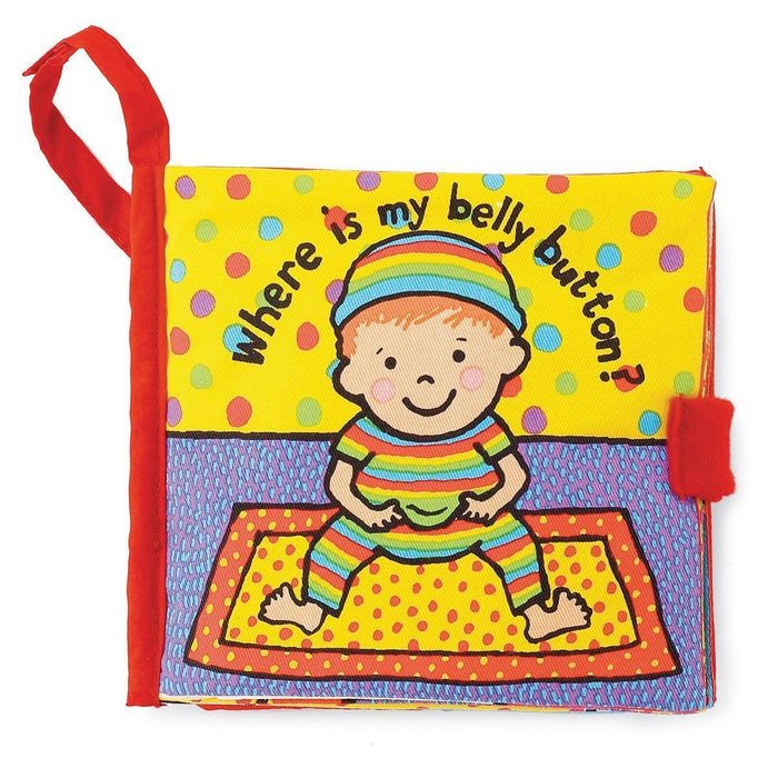 Jellycat Where Is My Belly Button? Soft Book