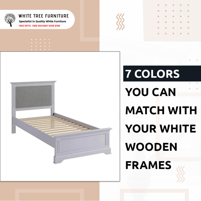 7 Colors You Can Match With Your White Wooden Frames