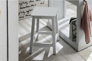 Images | Halifax Set of 3 White Kitchen Stools T767S