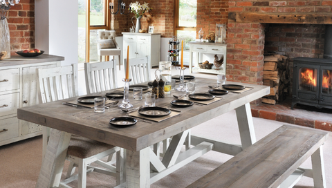 Reclaimed Pine Dining Furniture