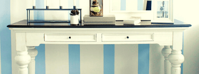 Provence Accent White Painted Furniture