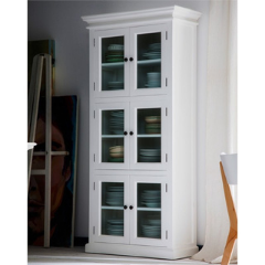 Halifax White Painted Pantry Cabinet