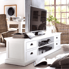 White TV Stands and Units