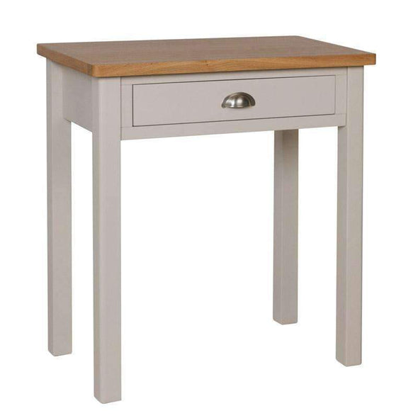 Toulouse Grey Painted Oak Dressing Table - White Tree Furniture