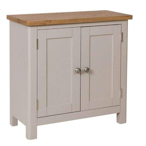 Toulouse Grey Painted Oak Small Sideboard - White Tree Furniture