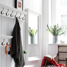 Halifax White Painted Profile Mirror - White Tree Furniture
