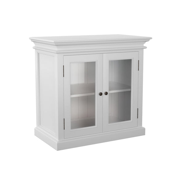 Halifax White Painted Small Display Buffet - White Tree Furniture
