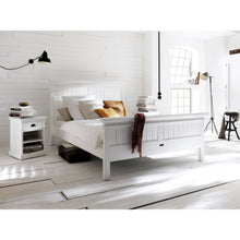 Halifax White Painted Super King Size Bed 180 x 200cm - White Tree Furniture