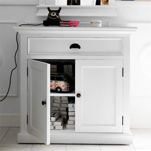 Halifax White Painted Small Buffet Sideboard B180 - White Tree Furniture