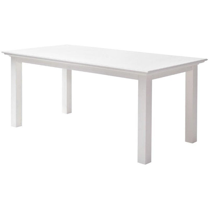 Nova Solo Halifax Small White Dining Table 160cm T759-160