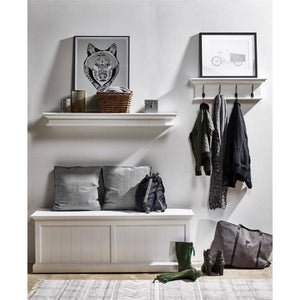 Nova Solo Halifax White Bedroom Storage Chest BB002