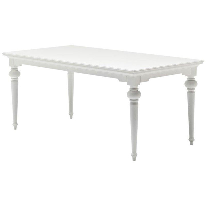 Nova Solo Provence White Dining Table 180cm T777