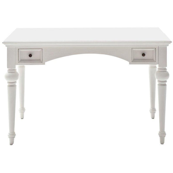 Provence White Painted Writing Desk T773 - White Tree Furniture