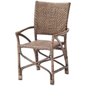 Nova Solo Wickerworks Countess Rattan Wicker Chairs (Pair) CR49