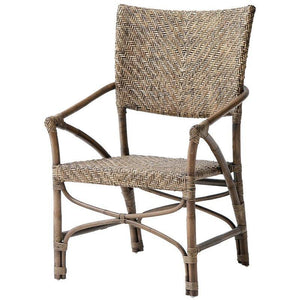Nova Solo Wickerworks Jester Rattan Wicker Chairs (Pair) CR48