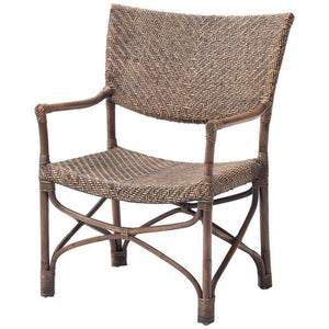 Nova Solo Wickerworks Squire Rattan Wicker Chairs (Pair) CR47
