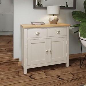 Toulouse Grey Painted Oak Sideboard - White Tree Furniture