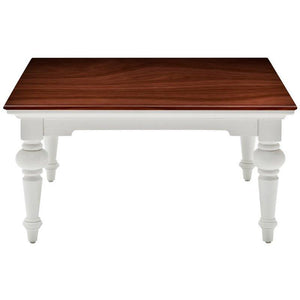 Provence Accent White Painted Square Coffee Table - White Tree Furniture