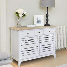 Baumhaus Signature Grey Console Small Sideboard - White Tree Furniture