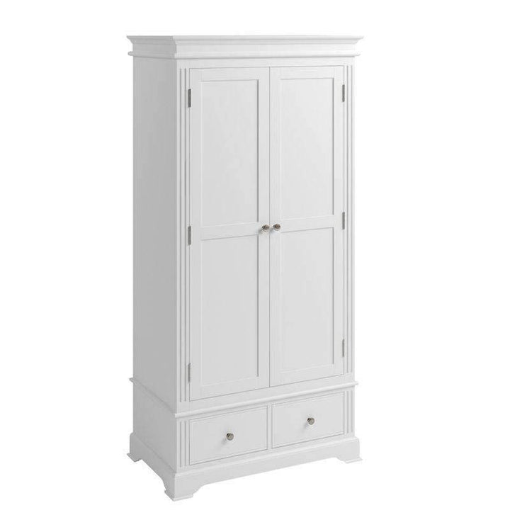 Alsace White Painted Wardrobe - White Tree Furniture