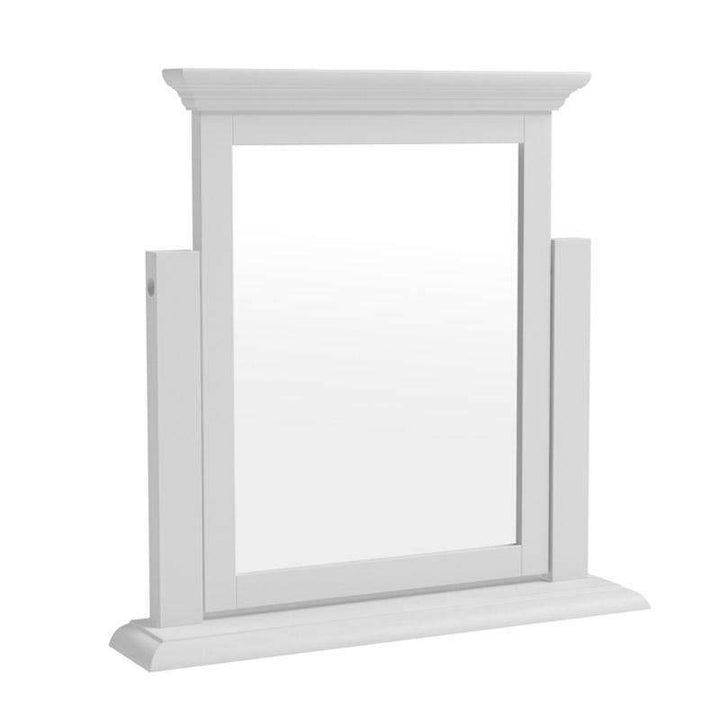 Alsace White Painted Dressing Table Mirror - White Tree Furniture