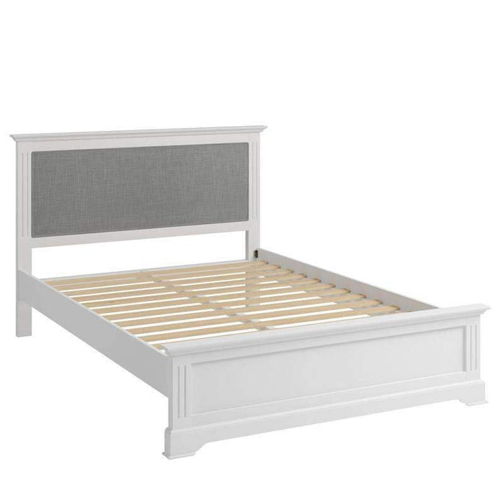 Alsace White Painted King Size Bed Frame 5ft - White Tree Furniture