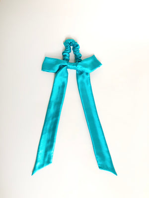 Silk Bow Scrunchie (More Colors Available)