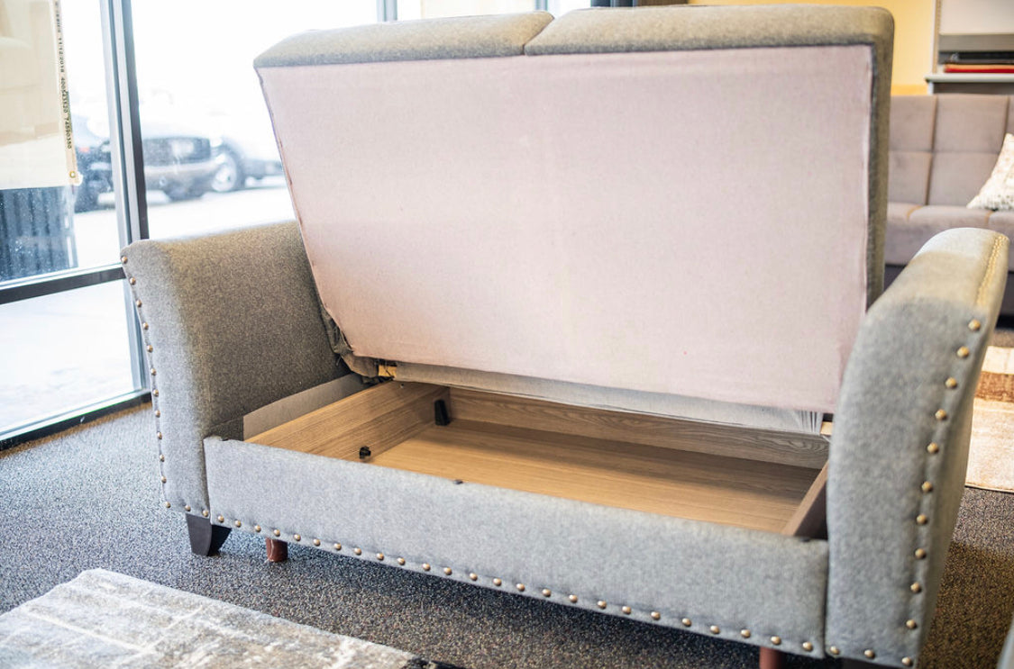 Sleeper Loveseat With Storage