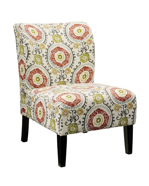accent small floral chair