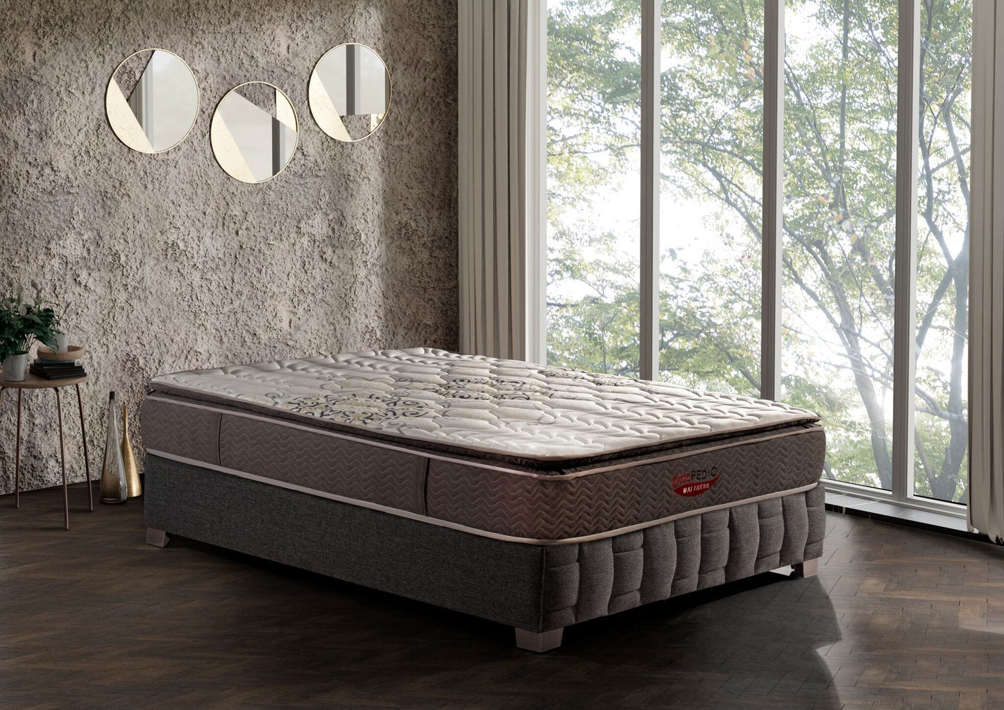 mattress with pillow top in Houston TX asy furniture