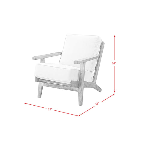 accent chair metro dimensions