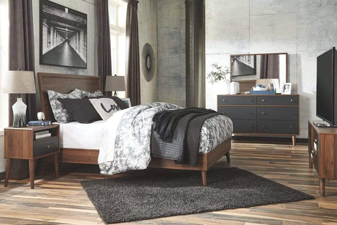 4 piece contemporary bedroom set