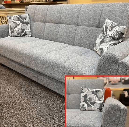 sleeper sofa bed with storage at ASY Furniture store near Houston Stafford same day delivery