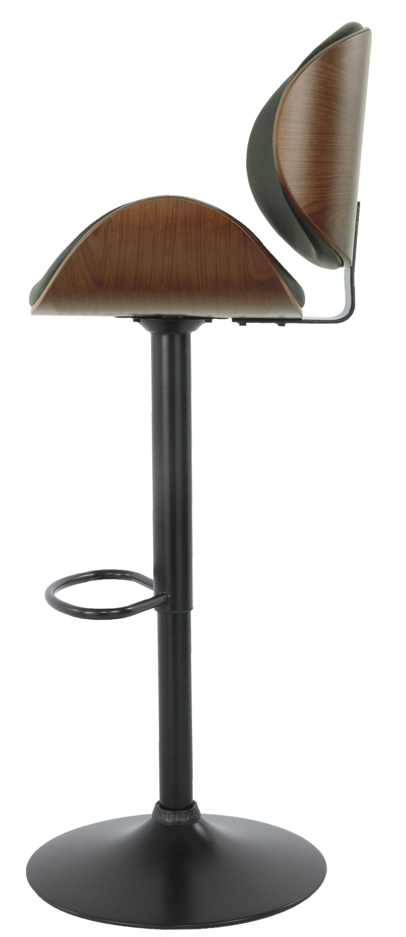 Bellatier Tall Upholstered Swivel Barstool 1 Piece