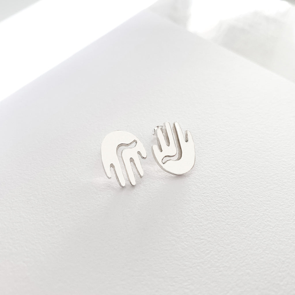 SMBL Stud Earrings