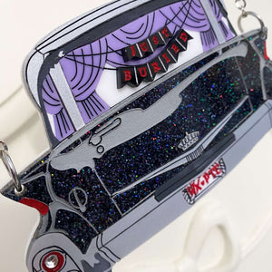 """""""Just Buried"""" Caddy Superior Hearse Necklace"""