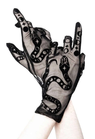 Snake Charmer gloves by Restyle